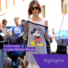 5 cool ways to wear Mickey Mouse