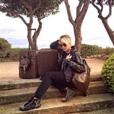 Em Saint-Tropez com a Louis Vuitton