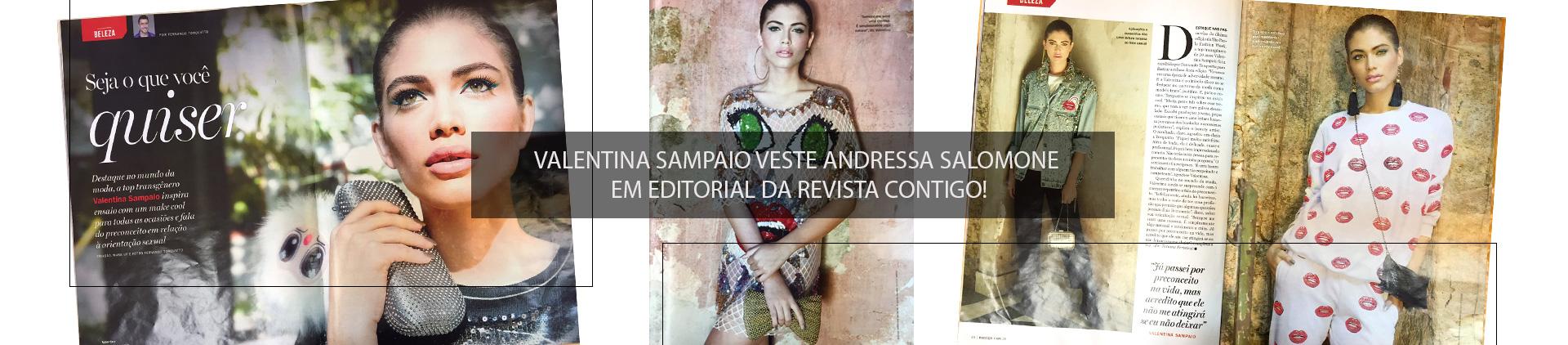 EDITORIAL NA REVISTA CONTIGO: VALENTINA SAMPAIO VESTE LOOKS DA COLEÇÃO LA DOLCE VITA