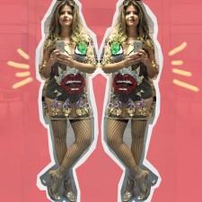 Celebrity Style: Mariana Santos usa look by Andressa Salomone no programa Amor & Sexo, da Rede Globo