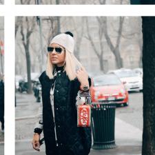 Último look em Milão: Kit Kat Handbag