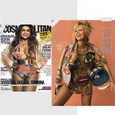 É Fevereiro! Editorial na Revista Cosmopolitan em clima de Carnaval