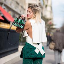 Look da Andressa: Greenery pelas ruas de Paris