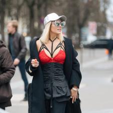 Look da Andressa: Corpete + Strappy Bra