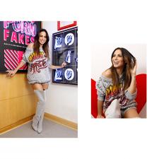 Alinne Rosa é clicada no ateliê de Andressa Salomone pelo site EGO