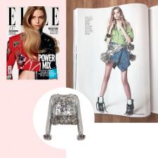 Power Pop: Moletom com paetês e jaquetas bordadas brilham em editorial
