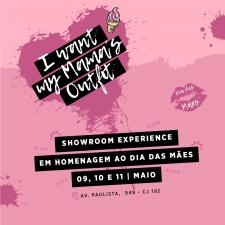 You're invited! Showroom Experience em homenagem ao Dia das Mães
