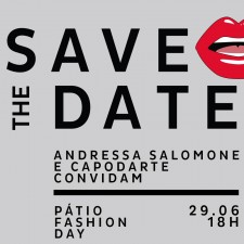 Save The Date: 29.06 | Pátio Fashion Day