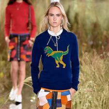 Tendência jurássica: Os dinossauros invadem o fashion world